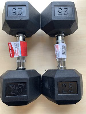 Dumbbells for sale! 45, 40, 25, 15, 10, 5, 3, and 2 all available. See description for pricing! for Sale in Lynchburg, VA