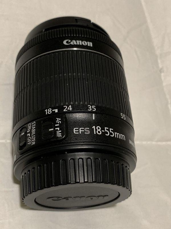 Canon EOS Rebel T6I 24.2MP Digital SLR Camera with Lenses
