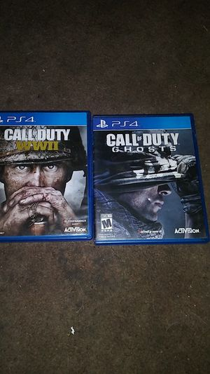 Cod ww2 and ghost for Sale in Phoenix, AZ