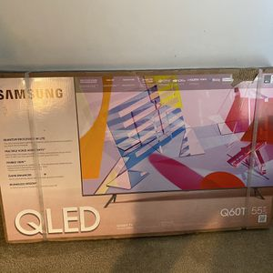 """Samsung 55"""" Inch 4K Smart TV HDR QLED Q60T for Sale in Baltimore, MD"""