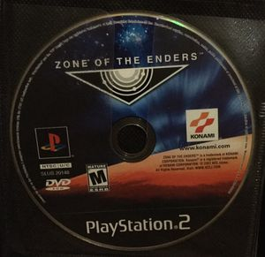 Zone of the Enders for ps2 for Sale in Houston, TX