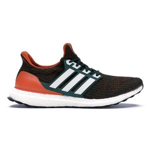 NEW Adidas Ultra Boost 4.0 'Miami Hurricanes' Men's Size 6.5 Women's Size 7.5 for Sale in Norwalk, CA