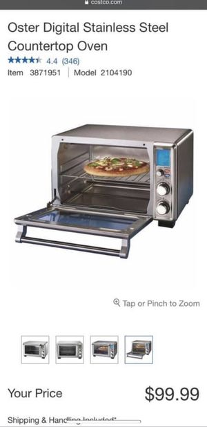 6 slice turbo convection oven new in box $60 each for Sale in Savannah, GA