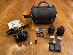 Nikon D3300 + Lenses and Accessories for Sale in Claremont, CA