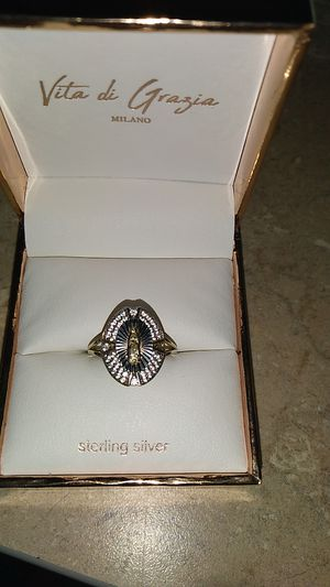 Gold filled over sterling silver Saint Mary's ring for Sale in Tampa, FL