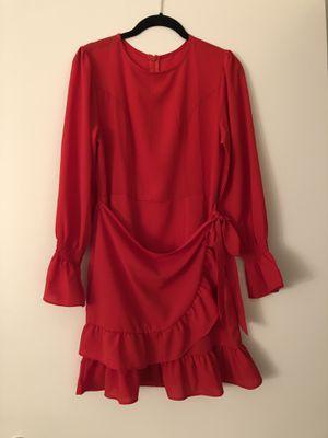 Ruffle red dress - vestido rojo de bolados for Sale in Miami, FL