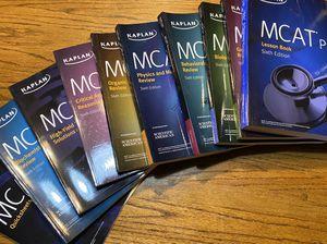 Kaplan MCAT books 6e 2020-2021 for Sale in Gig Harbor, WA