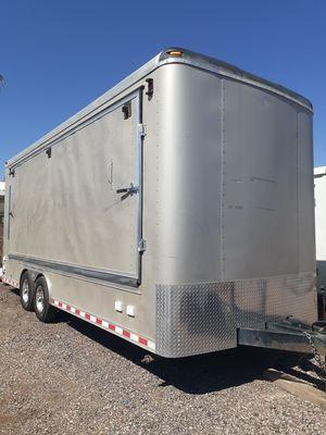 Enclosed trailer vendor or equipment music 8.5 x 20 for Sale in Mesa, AZ
