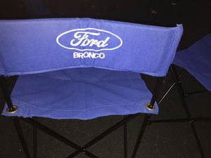 Vintage Ford Bronco Lawn Chairs Set of 2 for Sale in Massapequa, NY