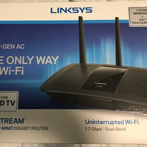 Linksys AC1750 MU-MIMO GIGABIT Router for Sale in Irvine, CA