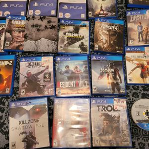 Ps4 Game Lot for Sale in West Columbia, SC