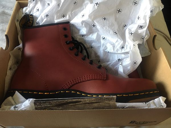 Dr. Martens / Boots / Brand New / Cherry Red Rouge / AirWair