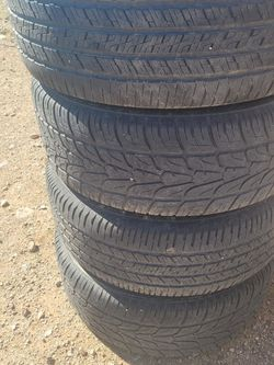 Stock Wheels And Tires 2 Are New for Sale in Roosevelt,  AZ