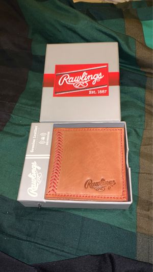 Rawlings Mens Baseball Stitch Wallet for Sale in Rancho Palos Verdes, CA
