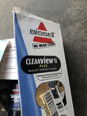 Bissel vacuum clean view 2 plus bag less upright new for Sale in Lake Forest, CA