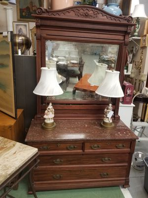 Antique Eastlake Dresser for Sale in Conyers, GA