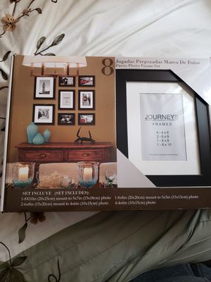8 pieces photo frame Set for Sale in Half Moon Bay, CA