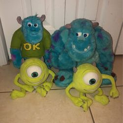 Monster Inc Plush Toys $5 EACH for Sale in Miami,  FL