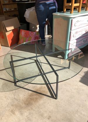 Room & Board Glass Coffee Table for Sale in Tigard, OR