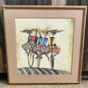 Graciela Rodo Boulanger Holiday On Wheels Custom Framed And Double Matted for Sale in Murfreesboro, TN