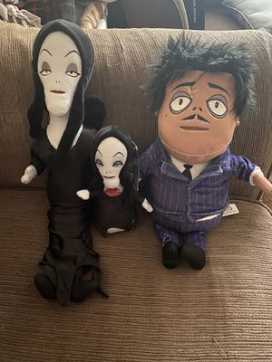 Addams family plushies Halloween for Sale in Fontana, CA