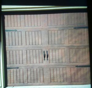 8x7 used like new garage door for Sale in Sanger, CA