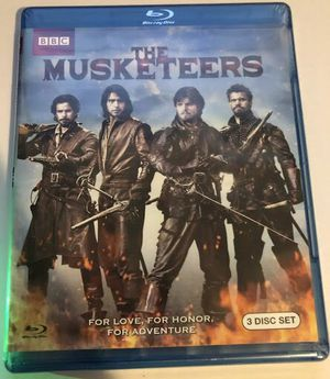 bluray the musketeers brand new blu ray for Sale in Los Angeles, CA