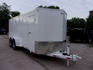 18x7 ENCLOSED UTILITY TRAILER 10k DELCO for Sale in Lewisville, TX