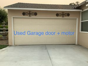 Used Garage Door for Sale in Ontario, CA
