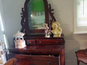 Antique mahagany dresser for Sale in Virginia Beach, VA