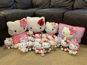 Huge Lot of Hello Kitty Stuffed Animal for Sale in Irvine, CA