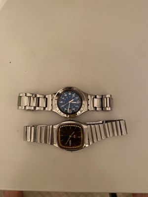 Seiko watch and swatch watch (kids watches) for Sale in Burke, VA
