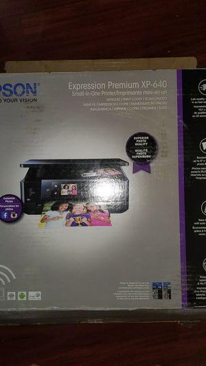 Epson XP-640 Printer/Copy/Scan for Sale in Fresno, CA