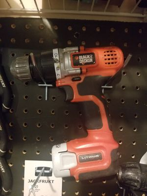 Black and Decker 12v Drill for Sale in Brooklyn Center, MN