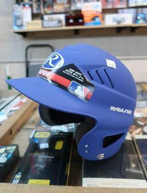 Rawlings Coolflo Baseball Batting Helmet in Matte Royal Blue for Sale in Mesa, AZ