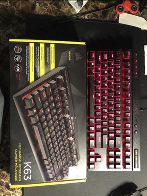 Corsair k63 Mechanical keyboard for Sale in Arcadia, CA