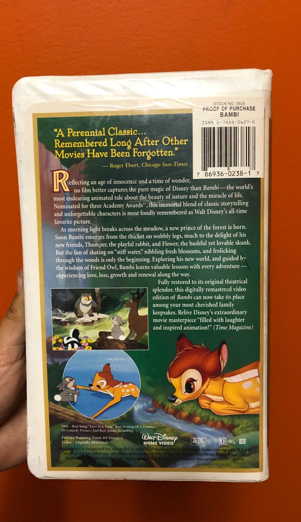 Walt Disney's Masterpiece Bambi