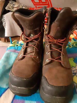 Mens red wing steel toe boots for Sale in San Antonio, TX
