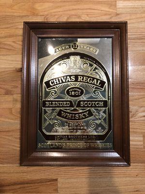 Chivas Regal Mirror Picture for Sale in Aurora, IL
