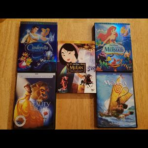 5 Disney animated movies for Sale in Boring, OR