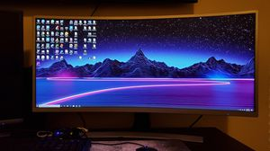 "35"" curve ultrawide monitor 100hz for Sale in Houston, TX"