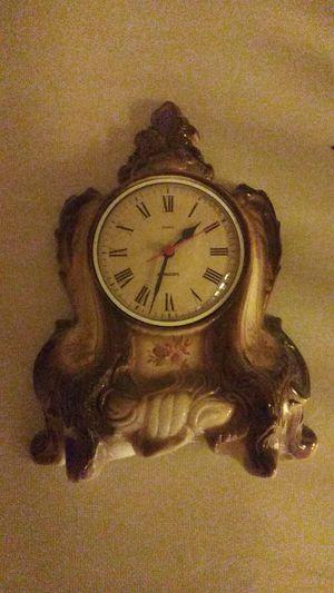 Porcelain antique clock for Sale in Dinuba, CA
