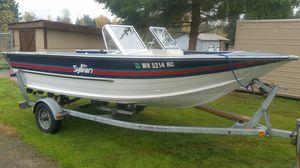 1987 17ft SYLVAN SPORTMAN Aluminium hull BUY IT THIS WEEK FOR 6500 FIRM !!!!! for Sale in Wenatchee, WA