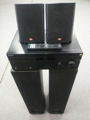 Sony Receiver + Polk Audio Tower Speakers + Cerwin Vega Surround Speakers for Sale in Columbus, OH