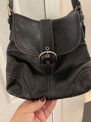Leather Coach purse for Sale in Columbia, MD