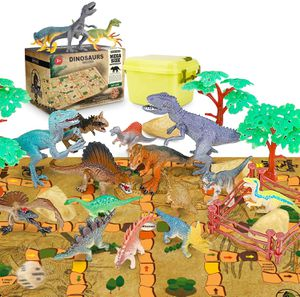 RenFox Dinosaur Toys Set with Activity Play Mat for Sale in Pasadena, CA