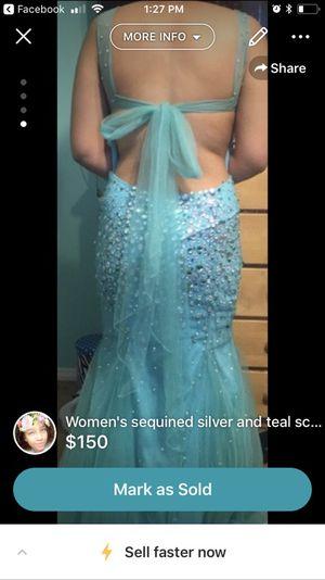 Mermaid prom dress for Sale in Lakewood, CA