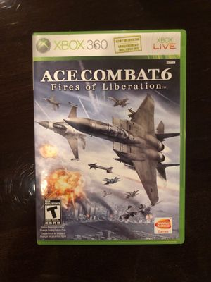 Ace combat 6 Xbox 360 game for Sale in Dallas, TX
