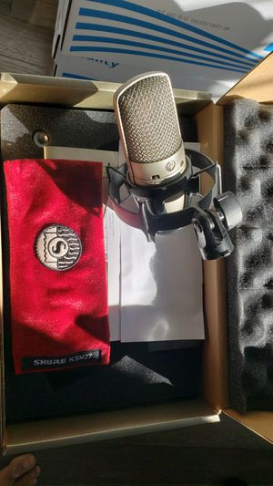 Shure Condenser mic for Sale in Washington, DC