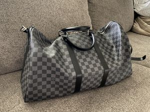 Authentic Louis Vuitton duffel bag keepall 55 for Sale in Vancouver, WA